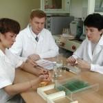 Сотрудники лаборатории лесной генетики