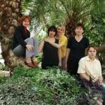 Сотрудники оранжереи тропических растений